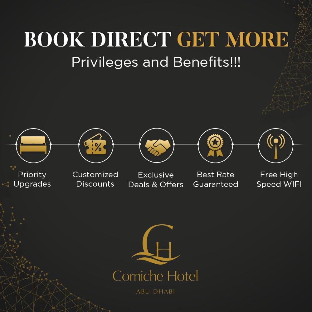Corniche Hotel Abu Dhabi – 5 Star Luxurios Hotel in Abu Dhabi